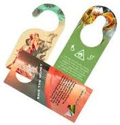 Perforated Door Hangers