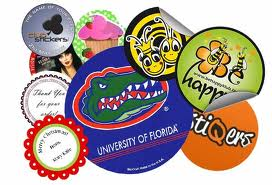 Oval/Round Stickers