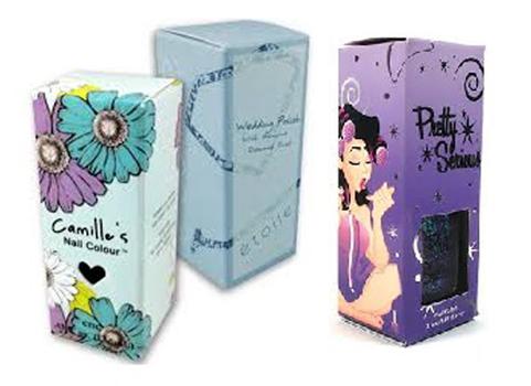 Printed Nail Polish Boxes
